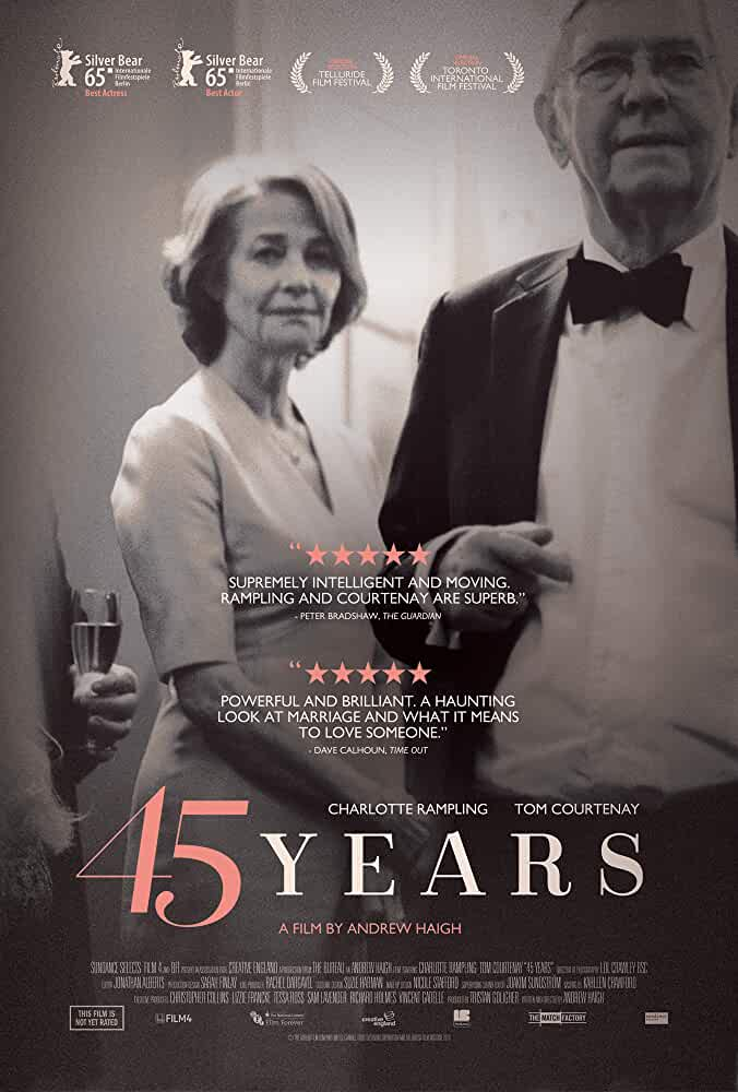 45 Years 2015 Movies Watch on Amazon Prime Video