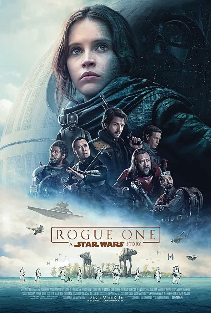 Rogue One: A Star Wars Story 2016 Movies Watch on Disney + HotStar