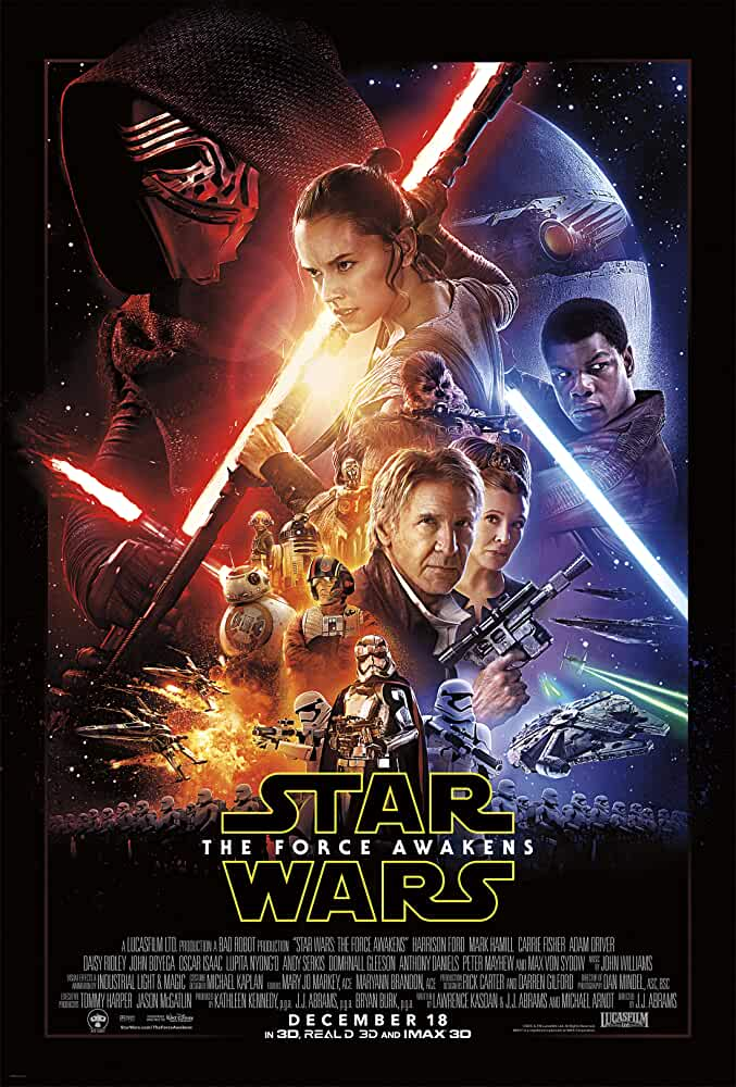 Star Wars: Episode VII - The Force Awakens 2015 Movies Watch on Disney + HotStar
