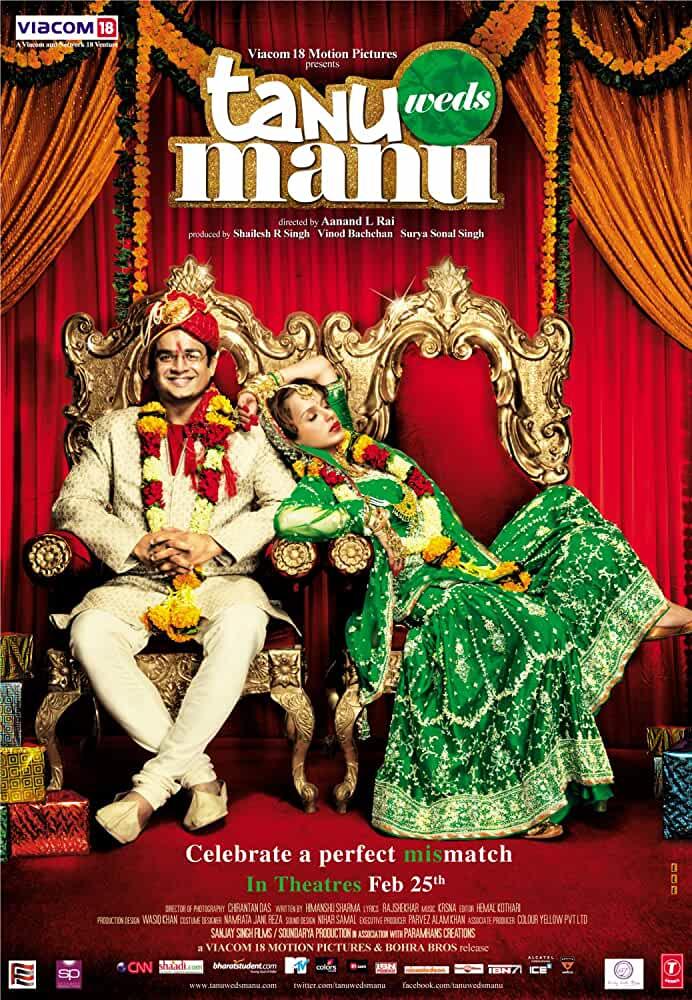 Tanu Weds Manu 2011 Movies Watch on Netflix