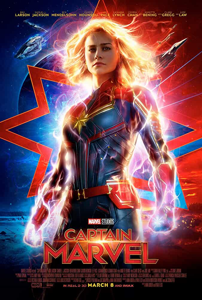 Captain Marvel 2019 Movies Watch on Disney + HotStar