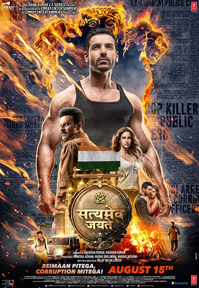 Satyameva Jayate 2018 Movies Watch on Amazon Prime Video