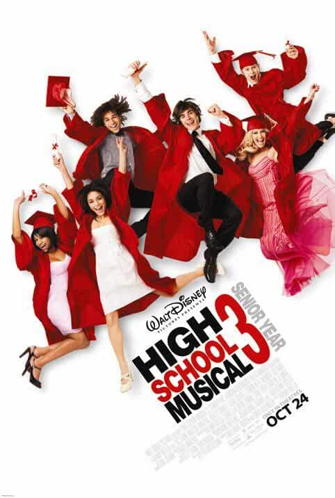 High School Musical 3 2008 Movies Watch on Disney + HotStar