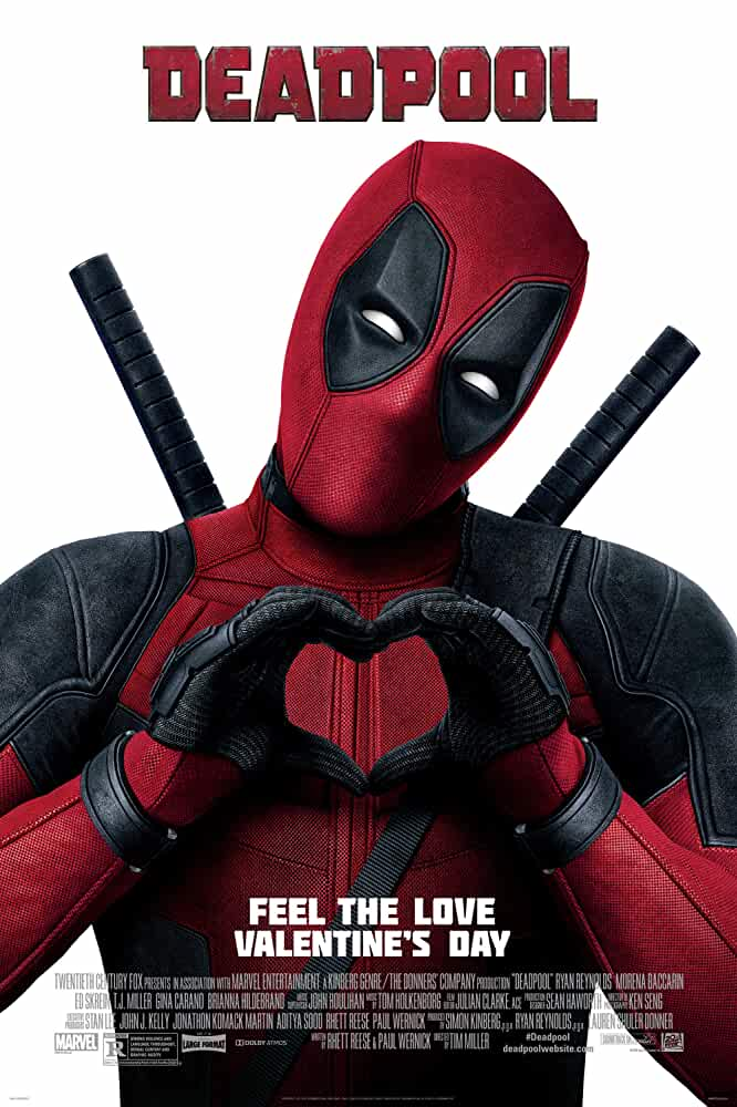 Deadpool 2016 Movies Watch on Disney + HotStar