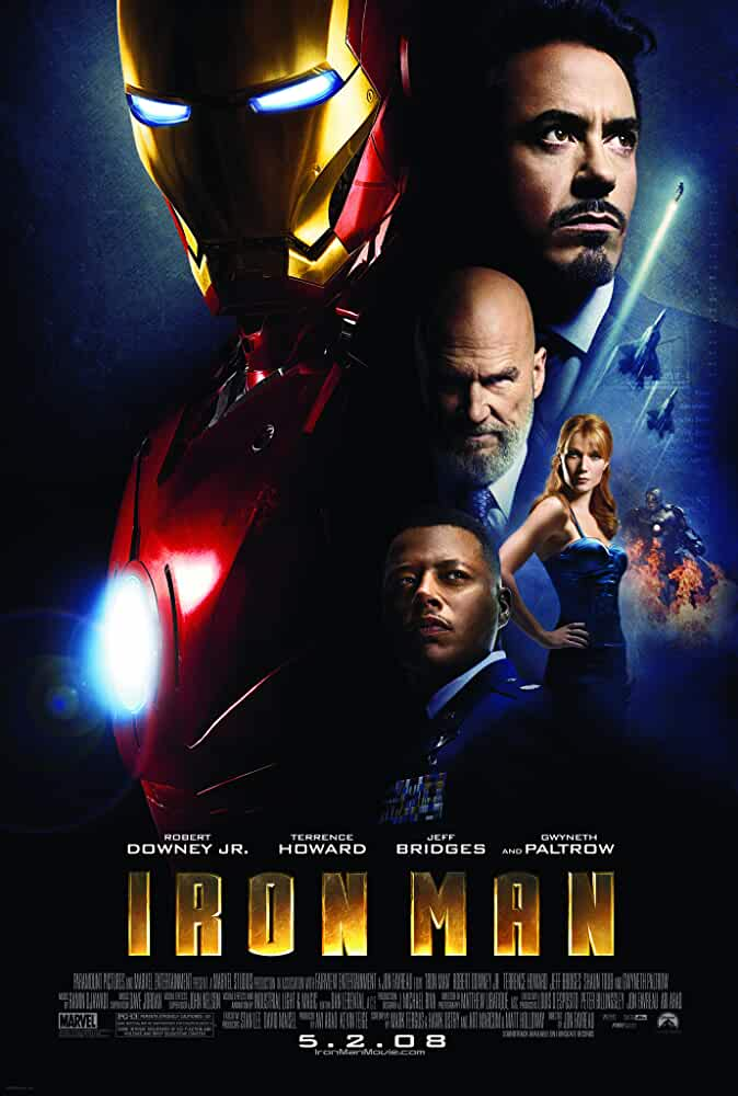 Iron Man 2008 Movies Watch on Disney + HotStar