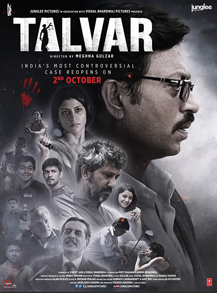 Talvar 2015 Movies Watch on Disney + HotStar