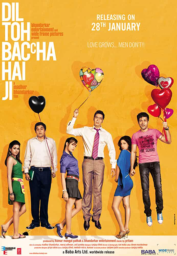 Dil Toh Baccha Hai Ji 2011 Movies Watch on Disney + HotStar