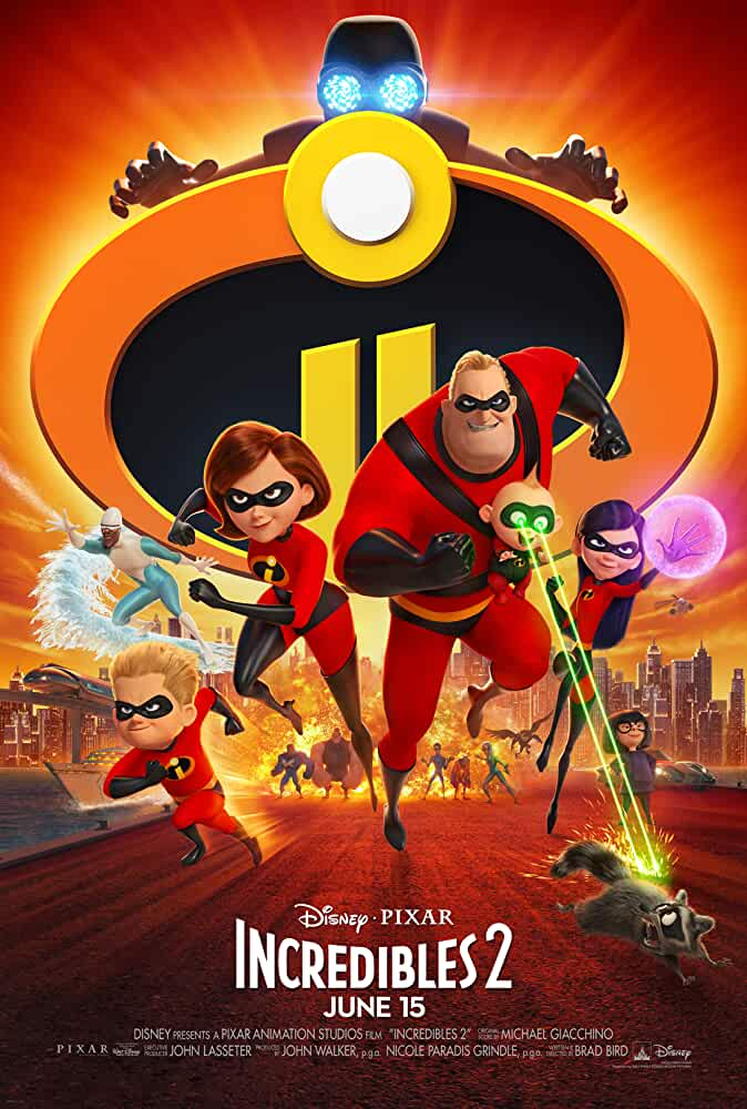 Incredibles 2 2018 Movies Watch on Disney + HotStar