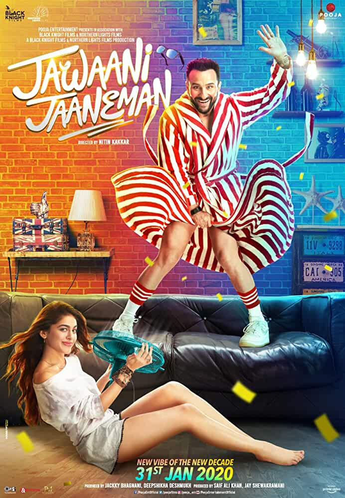 Jawaani Jaaneman 2020 Movies Watch on Amazon Prime Video