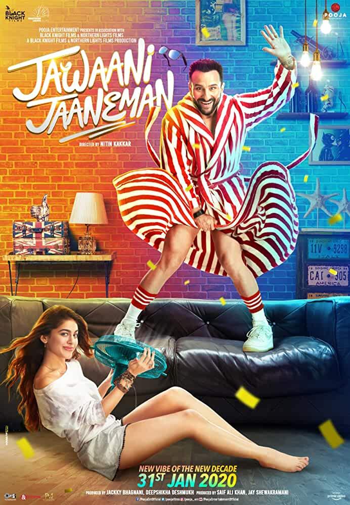 Jawaani Jaaneman 2020 Movies Watch on Amazon Prime Video