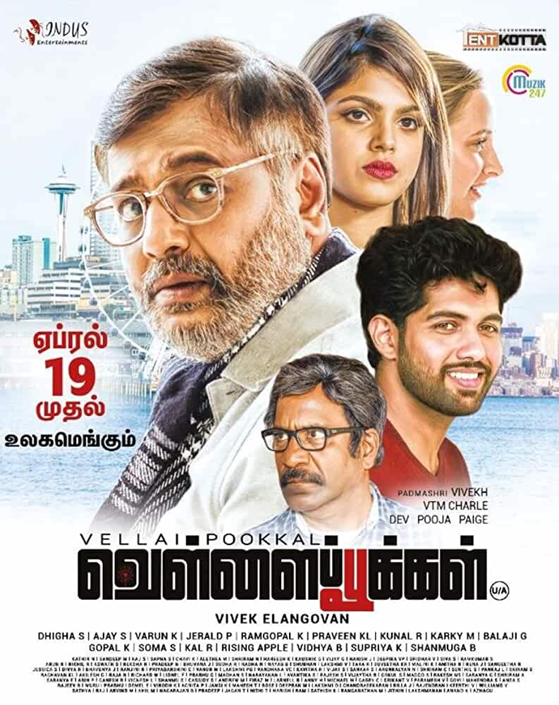 Vellai Pookal 2019 Movies Watch on Amazon Prime Video
