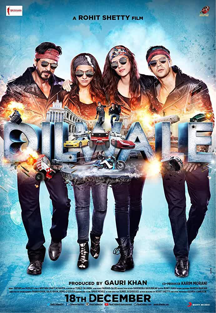 Dilwale 2015 Movies Watch on Netflix