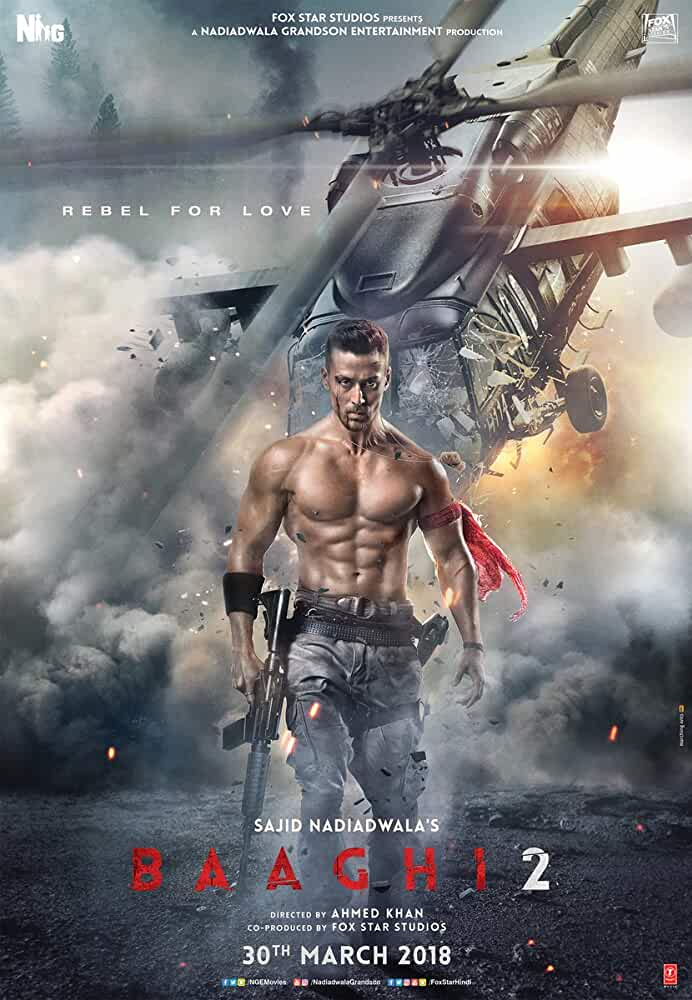Baaghi 2 2018 Movies Watch on Disney + HotStar