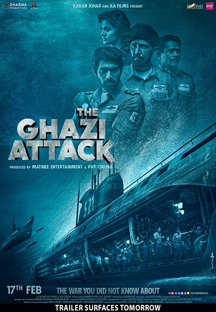 The Ghazi Attack 2017 Movies Watch on Amazon Prime Video