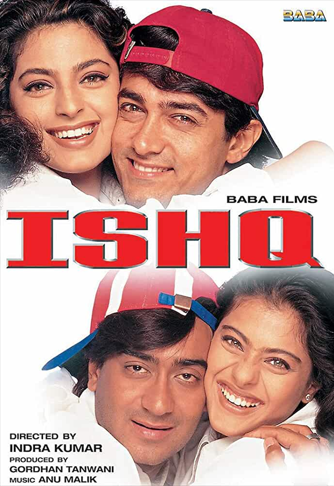 Ishq 1997 Movies Watch on Disney + HotStar