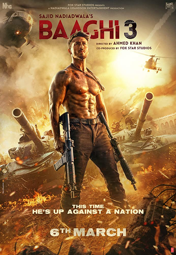 Baaghi 3 2020 Movies Watch on Disney + HotStar