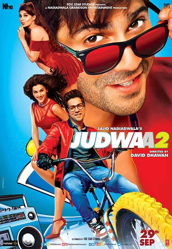 Judwaa 2 2017 Movies Watch on Disney + HotStar