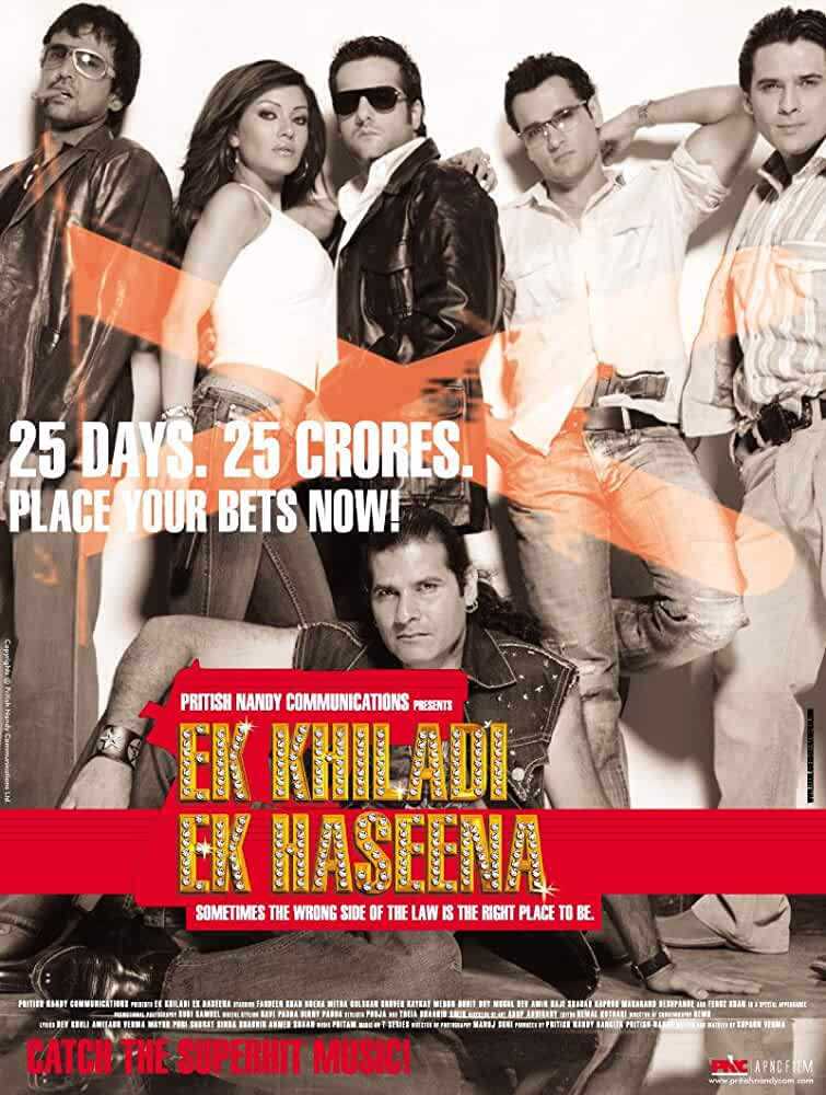 Ek Khiladi Ek Haseena 2005 Movies Watch on Netflix