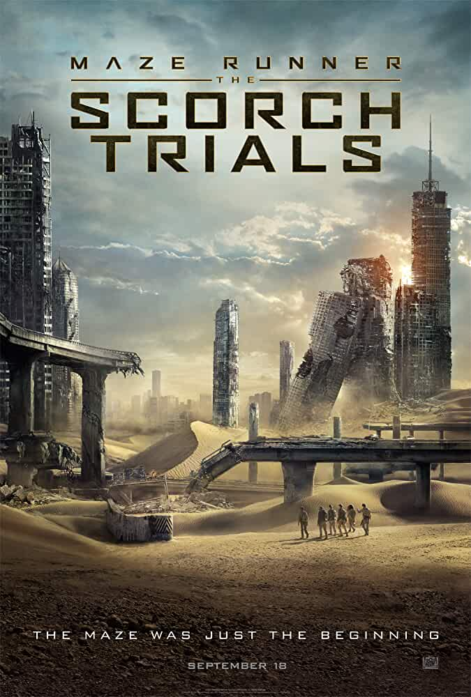 Maze Runner: The Scorch Trials 2015 Movies Watch on Disney + HotStar