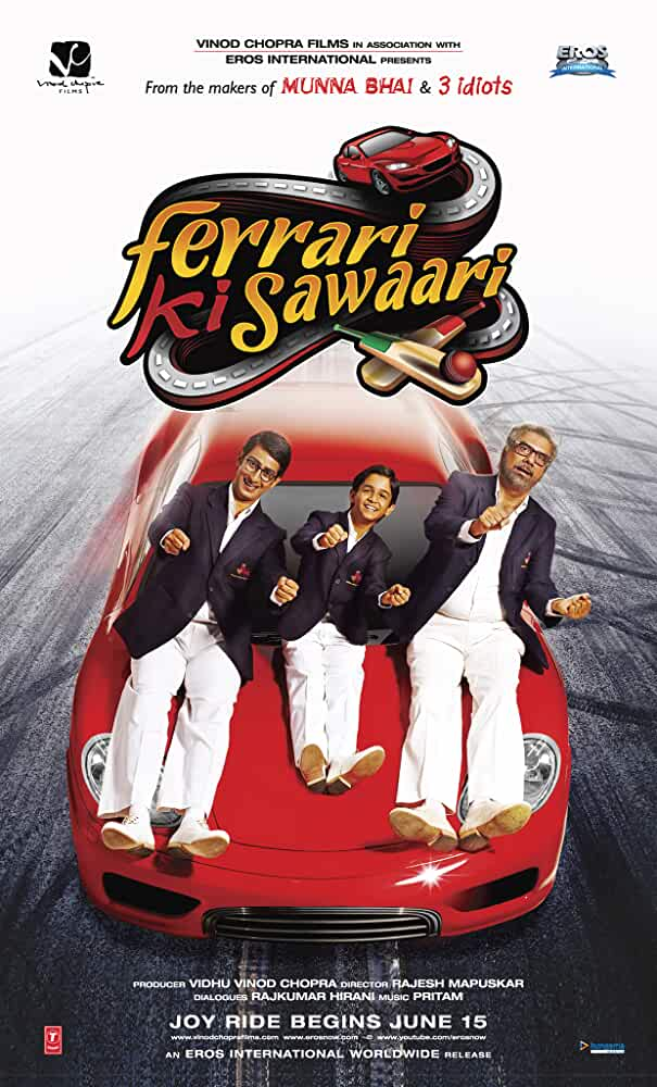 Ferrari Ki Sawaari 2020 Movies Watch on Disney + HotStar
