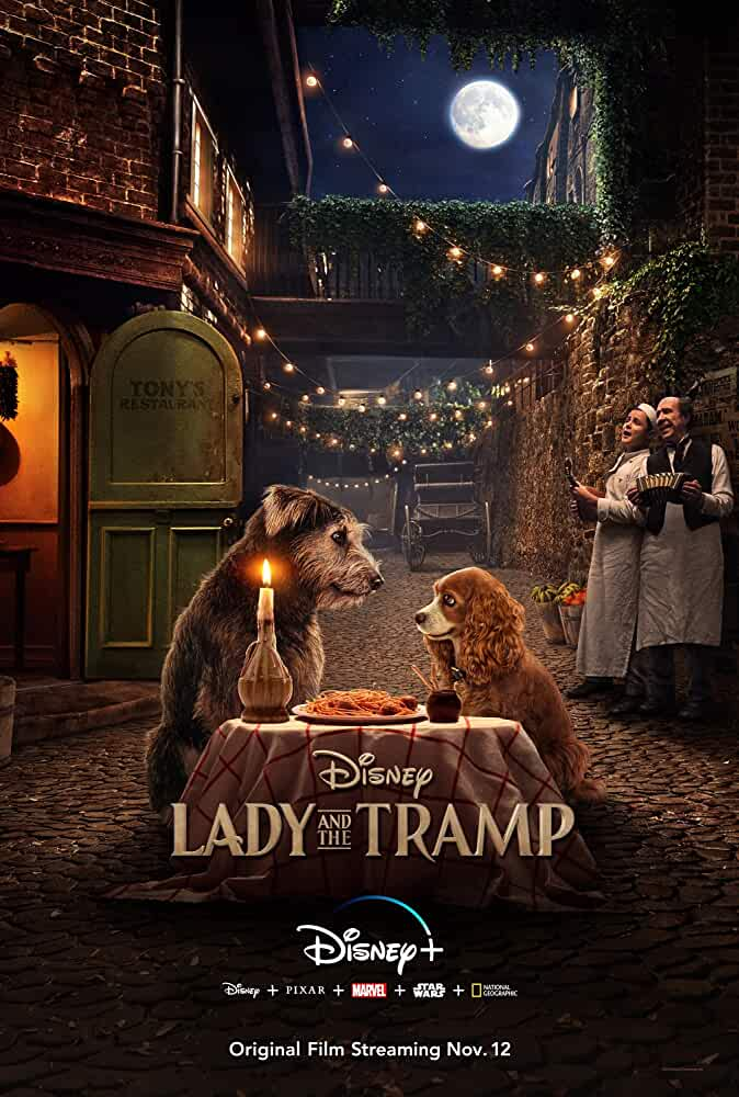 Lady and the Tramp 2019 Movies Watch on Disney + HotStar