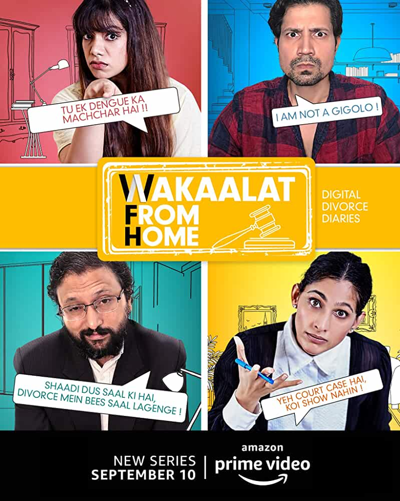Wakaalat From Home 2020 Web/TV Series Watch on Amazon Prime Video