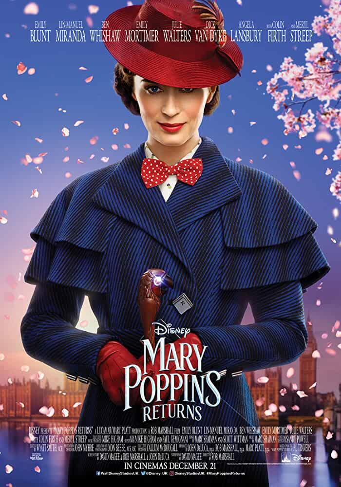 Mary Poppins Returns 2018 Movies Watch on Disney + HotStar