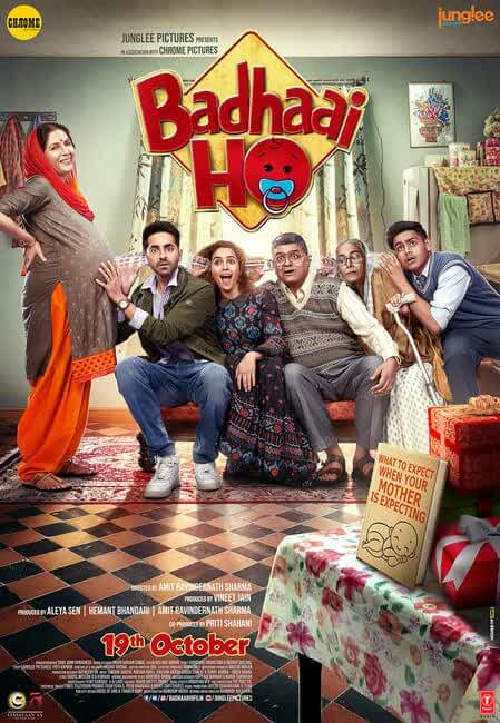 Badhaai Ho 2018 Movies Watch on Disney + HotStar