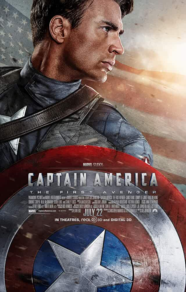 Captain America: The First Avenger 2011 Movies Watch on Disney + HotStar