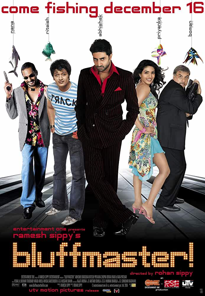 Bluffmaster 2005 Movies Watch on Disney + HotStar