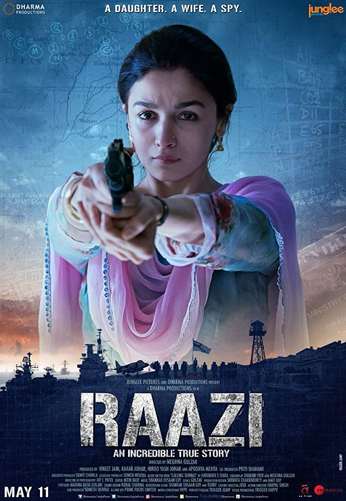 Raazi 2018 Movies Watch on Amazon Prime Video