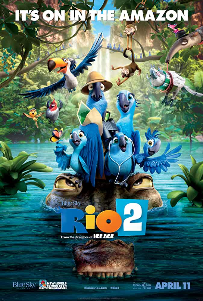 Rio 2 2014 Movies Watch on Disney + HotStar
