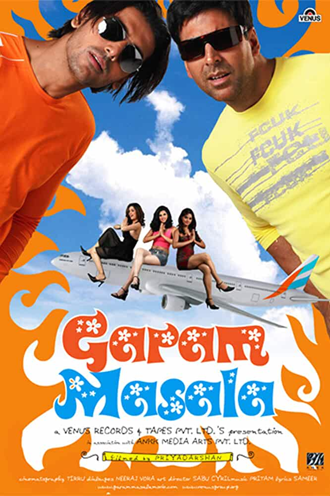 Garam Masala 2005 Movies Watch on Disney + HotStar