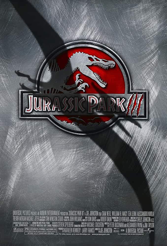 Jurassic Park III 2001 Movies Watch on Amazon Prime Video