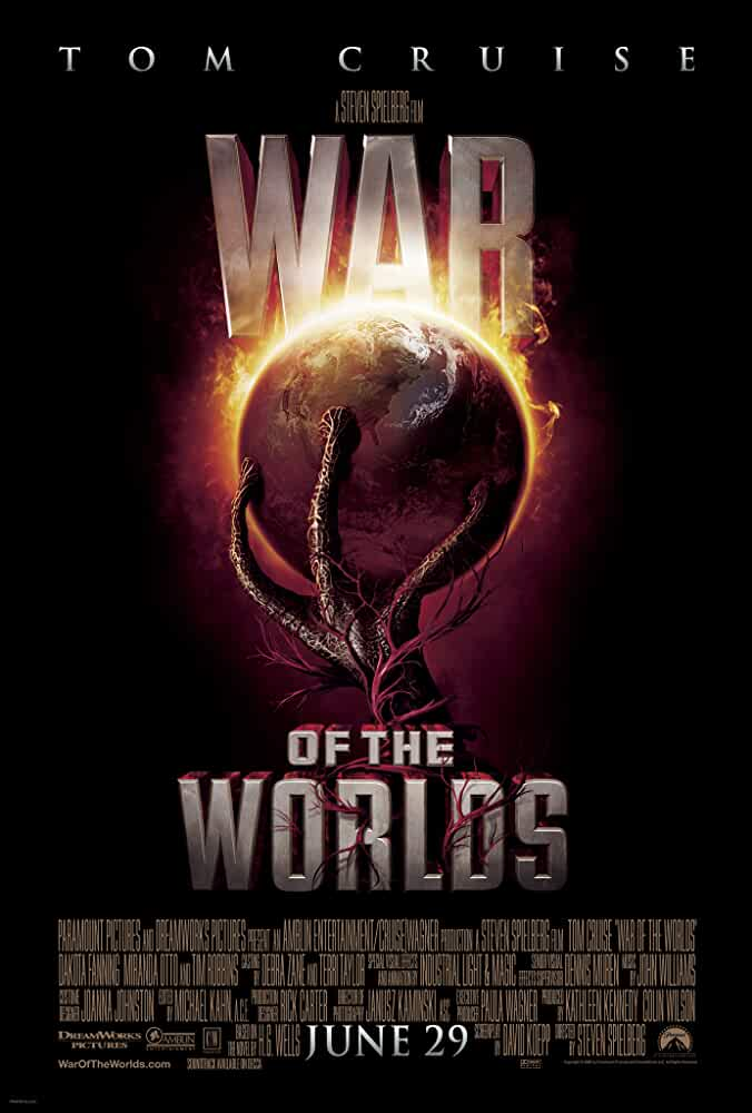 War of the Worlds (2005) 2005 Movies Watch on Amazon Prime Video