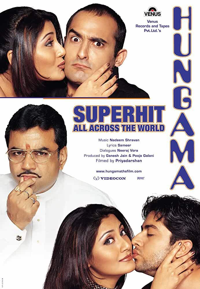 Hungama 2003 Movies Watch on Disney + HotStar