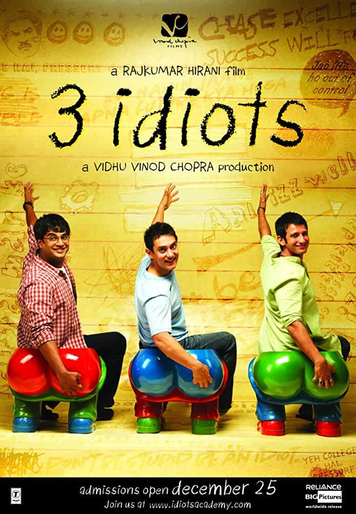 3 Idiots 2009 Movies Watch on Amazon Prime Video