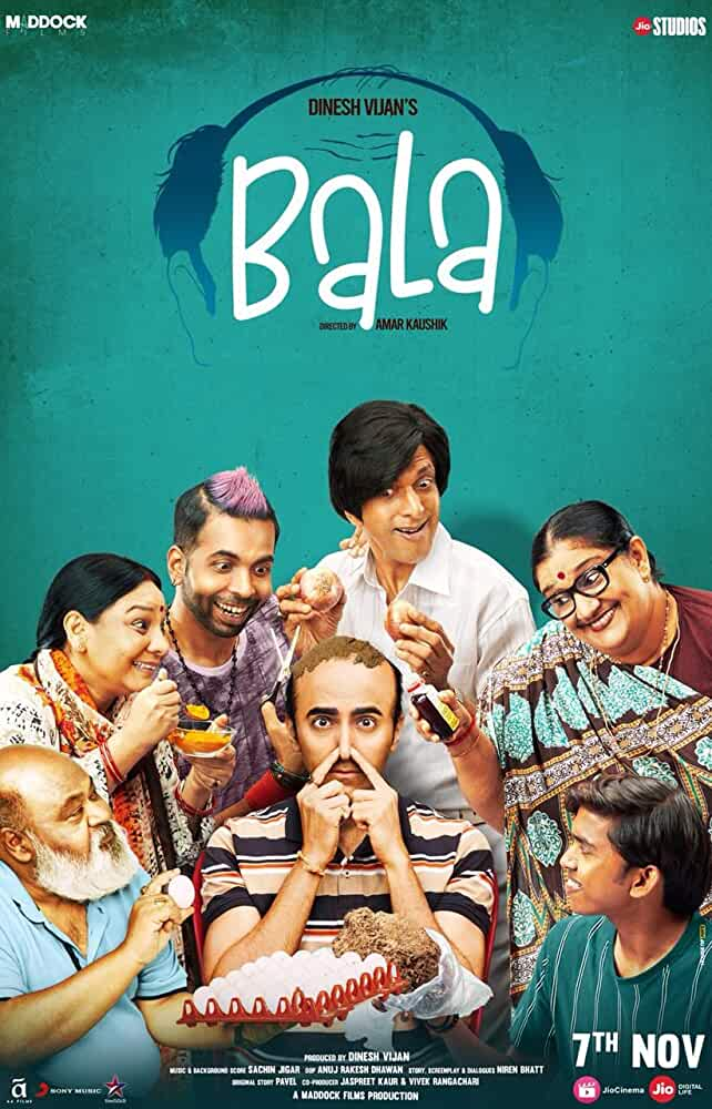Bala 2019 Movies Watch on Disney + HotStar