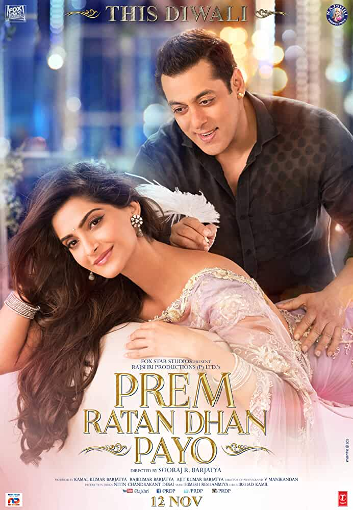 Prem Ratan Dhan Payo 2015 Movies Watch on Disney + HotStar