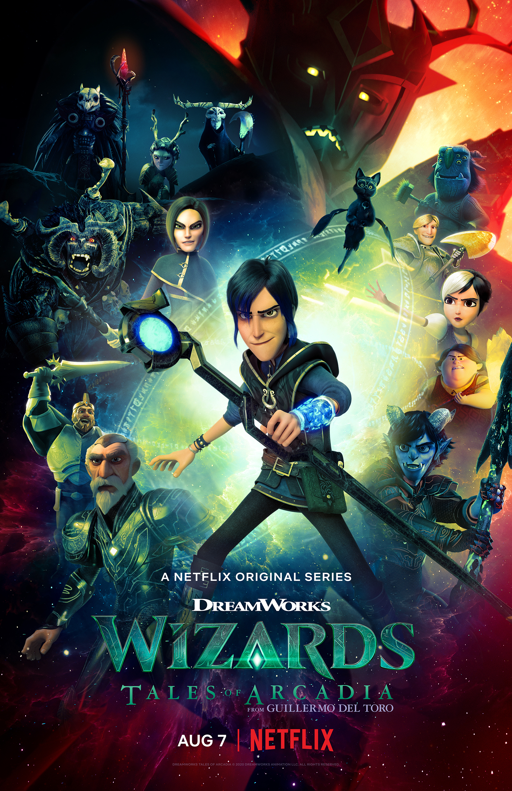 Wizards: Tales of Arcadia 2020 Movies Watch on Netflix