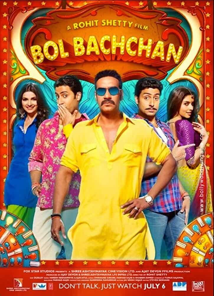 Bol Bachchan 2012 Movies Watch on Disney + HotStar