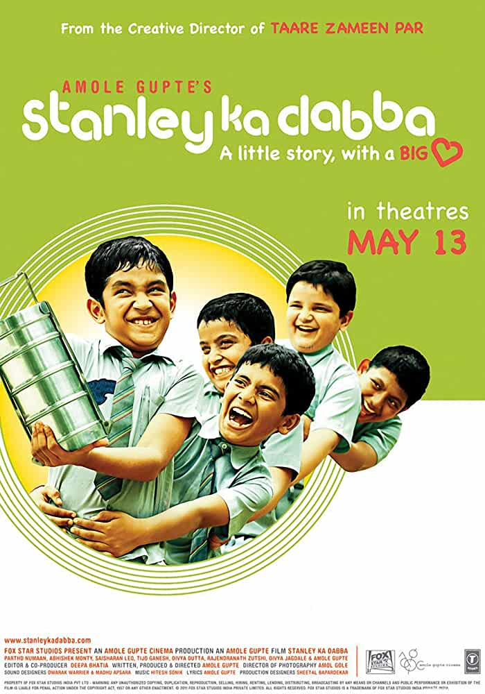 Stanley Ka Dabba 2011 Movies Watch on Disney + HotStar