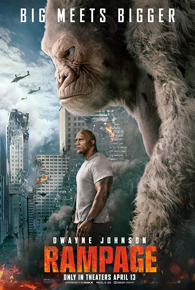 Rampage 2018 Movies Watch on Netflix