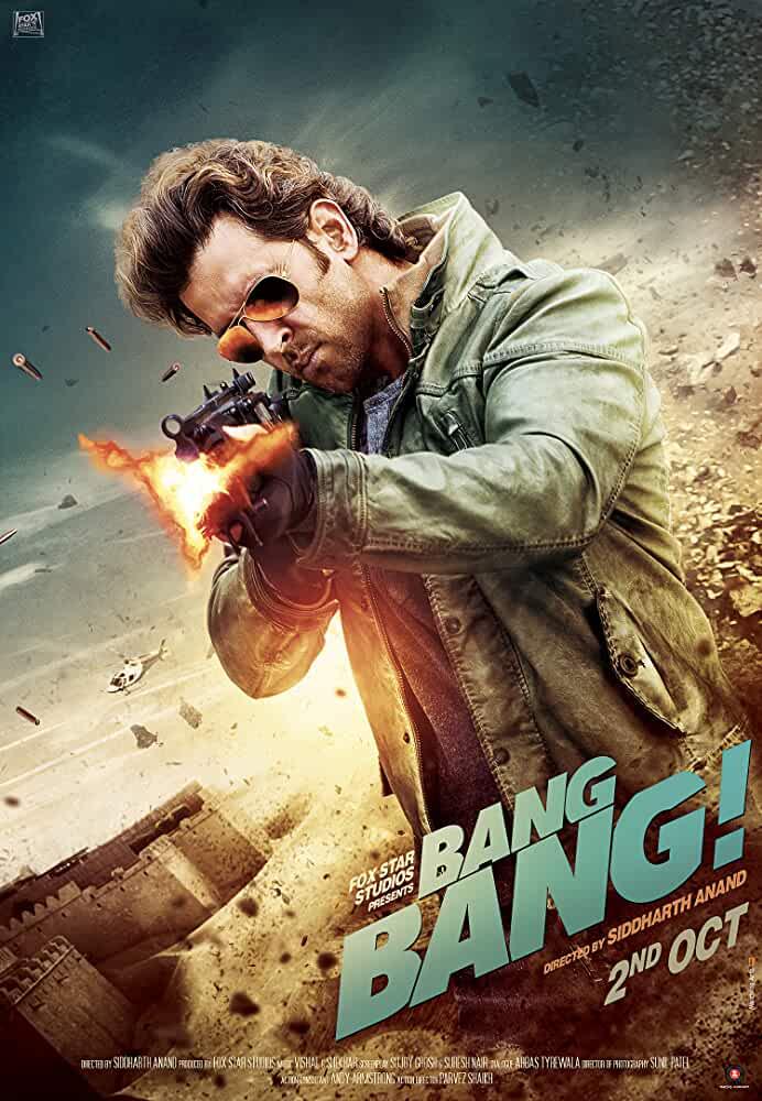 Bang Bang 2014 Movies Watch on Disney + HotStar