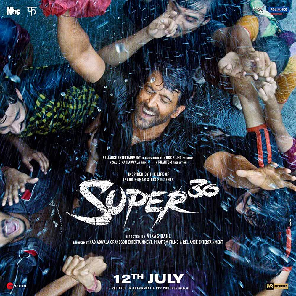 Super 30 2019 Movies Watch on Disney + HotStar