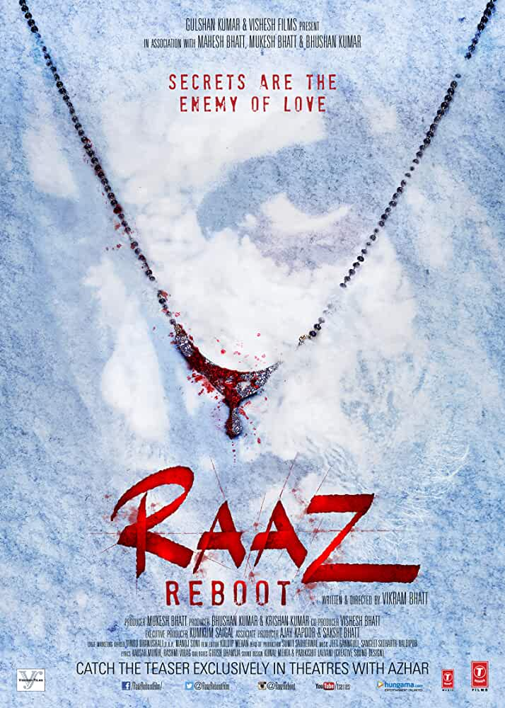 Raaz Reboot 2016 Movies Watch on Amazon Prime Video