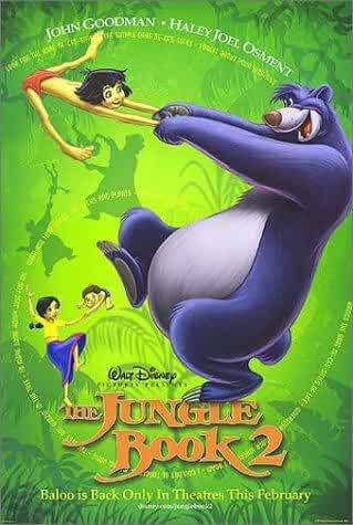 The Jungle Book 2 2003 Movies Watch on Disney + HotStar