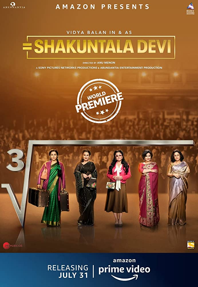Shakuntala Devi 2020 Movies Watch on Amazon Prime Video