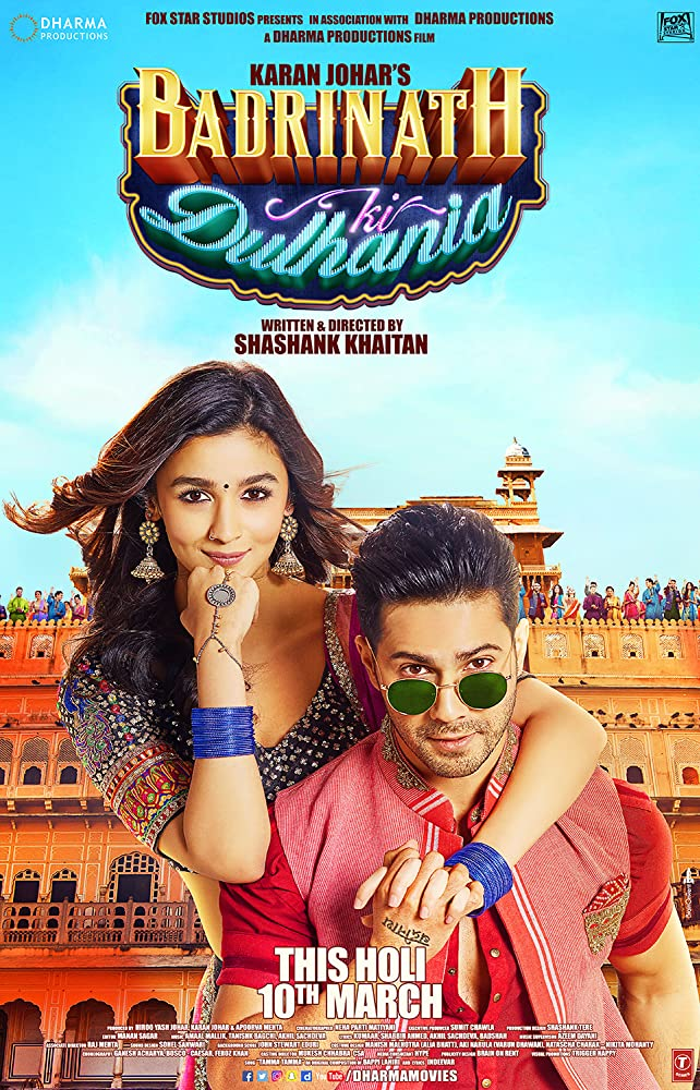 Badrinath Ki Dulhania 2017 Movies Watch on Amazon Prime Video