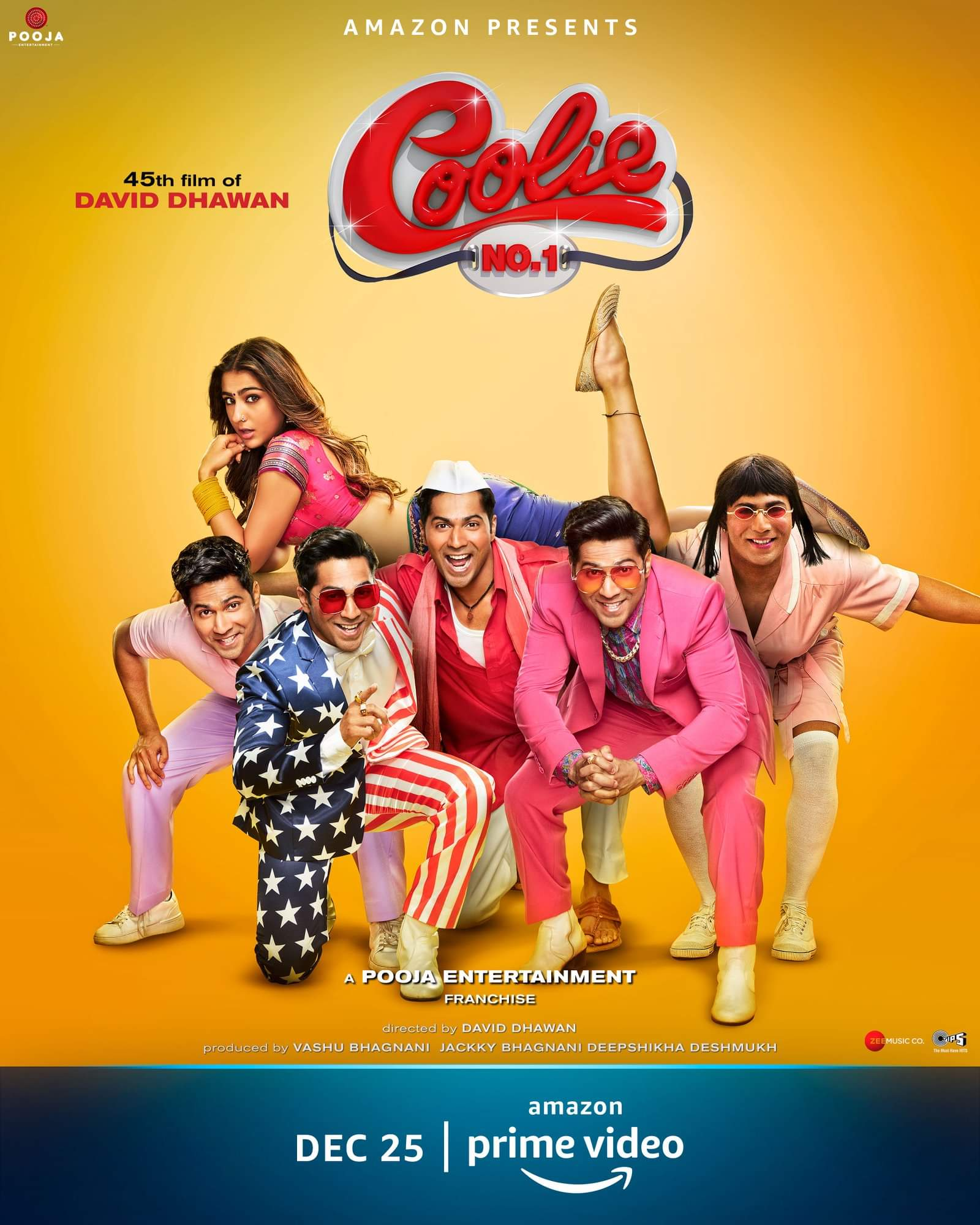 Coolie No. 1 2020 Movies Watch on Amazon Prime Video